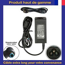 Chargeur d'Alimentation 19,5V 45W/65W Embout Bleu Pour Ordinateur PC Portable HP