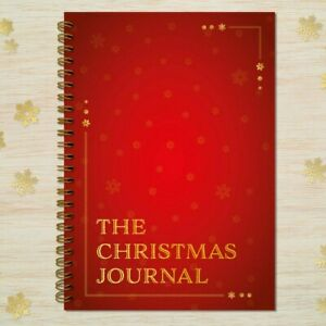The Christmas Journal Daily Planner Organiser Notebook Diary Book A5  FREEPOST