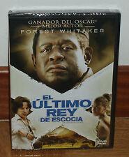 EL ULTIMO REY DE ESCOCIA DVD NUEVO PRECINTADO DRAMA SUSPENSE (SIN ABRIR) R2