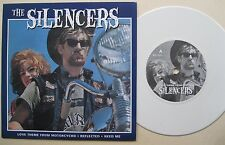 """7"""" the silencers-Go Baby Go-white vinyl-Love theme from motorcycho"""