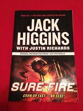 SURE FIRE by Jack Higgins2007 RARE UNCORRECTED PROOF! First Impression PB Putnam
