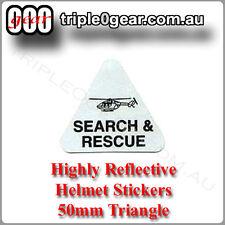Reflective Helmet Triangle - Search & Rescue