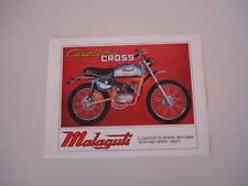 advertising Pubblicità 1971 MALAGUTI CAVALCONE CROSS