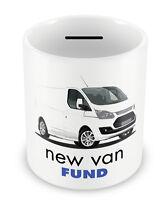NEW VAN Fund Money Box - PIGGY BANK Coin pot Bank tradesman gift idea xmas #94