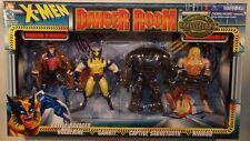 X-Men Danger Room Set Gambit Captive Sabretooth Nimrod Ravaged Wolverine MISB
