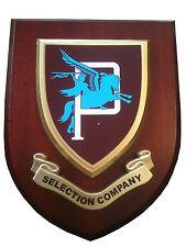 Parachute Regiment P Company Wall Plaque Military