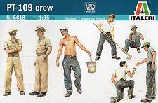 Italeri 1/35 5618 WWII US Navy PT-109 (Patrol Torpedo Boat) Crew (7 Figures)