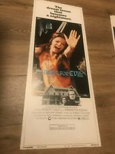 A Name for Evil Movie Insert Original Vintage Poster 1973 14 x 36