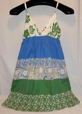 OP Cute Hawaiian Print Strappy Sun Dress, Size Small Beach Surf Free Shipping!