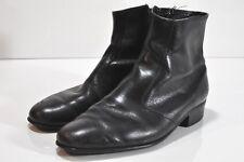 Vintage Mason Shoe leather zip up ankle boots Mens size 10.5 D