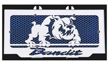 cache / Grille de radiateur 600 GSF ou 650 GSF Bandit Bulldog + grilllage bleu