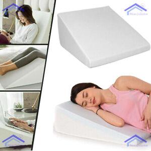 NEW Soft Orthologics Memory Foam Bed Wedge Raised Pillow Acid Reflux GERD Back