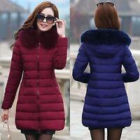 Giubbotto donna giacca invernale piumino cappotto Parka