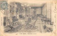 CPA ALGERIE BISKRA ROYAL HOTEL LE HALL (dos non divisé)