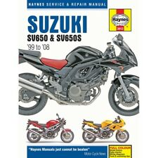 Suzuki SV650 SV650S 1999-2008 Haynes Workshop Service Manual