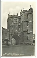 Bristol; The Norman Arch From Lower College Green RP 1955 PMK by Harvey Barton