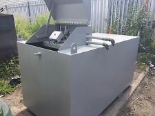 1000 Litre Steel Bunded Generator Feed storage Tank By Fuel Safe UK
