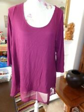 M&S COLLECTION TUNIC/TOP SIZE 16