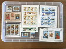Thematic stamps Royalty Mint stamps 1981 Royal Wedding