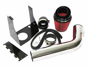 For Ford 07-14 Expedition/09-10 F150 5.4L V8 RED Cold Air Intake Kit+Heat Shield