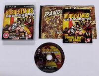 Sony PLAYSTATION 3 PS3 BORDERLANDS GOTY Edition 2009 2K BLES-00697