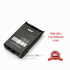 2000mAh FNB-102LI Battery for YAESU VERTEX VX-8R VX-8E VX-8DR VX-8DE Radio