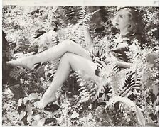 Fine Art Deco Camera Club 1930s Photograph Barefoot Leggy Wood Nymph H.R. Cremer