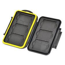 JJC MC-XQD6 Waterproof water resistant Memory Card Case Protector For 6 XQD Card