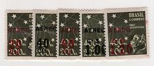 Brazil Sc C55-9 LH set of 1944 - AirMail overprint