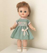 "Eegee 10"" Vintage doll sleep eyes & jointed bend knees Dress Shoes Fairyland Toy"