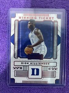 2020 21 Zion Williamson contenders red Checkout Other Auctions
