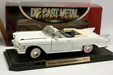 Road Signature Yatming 1/18 - Cadillac Eldorado Biarritz 1958 Blanche