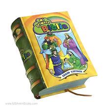 new hardcover Miniature Book Mi Primera Biblia en Español ilustrada pasta dura