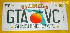 GRAND THEFT AUTO VICE CITY - Targa in metallo (license plate) GTA ○○○○○ OTTIMA