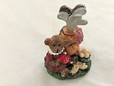 "Brown 4"" Bear with Golf Clubs & Balls Figurine"