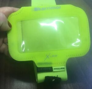 Karrimor Xlite Reflective Lime iPhone 5 Armband for running jogging sports
