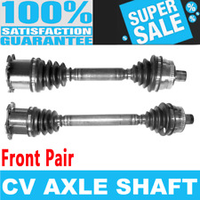 Front 2x CV Axle Assembly for AUDI A4 QUATTRO L4 2.0L Automatic Transmission