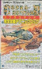 Cobra Command Complete strategy technique book / NES