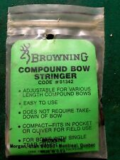Vintage Browning Compound Bow Stringer New In Package