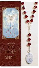Holy Spirit Chaplet (rosary) NEW 13.25 Inches Long PS341