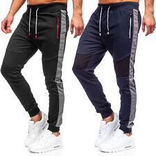 Laufhose Sporthose Trainingshose Jogger Sport Slim Fit Herren Mix BOLF Unifarben