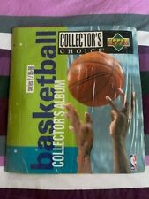 ** NBA Basketball UPPER DECK Séries 2 1995-96 Classeur collecteur collection **