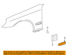 MERCEDES OEM C320 EXTERIOR TRIM-FENDER-Body Side Molding Right 20369042629189