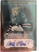 13-14 UD Upper Deck The Cup Enshrinements  Antti Niemi  /60  Auto  KHL. Sharks