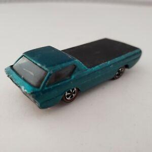 Hot Wheels Deora 1967 Mattel Aqua Redline Turquoise Vintage Blue Teal Green