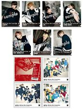 BTS Japan FC ver. [MICDrop/DNA/CrystalSnow] 4type A,B,C,Regular + 7 folders