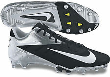 Nike Vapor Talon Elite Low Football Cleats - Black/Chrome - Size 12.5