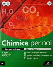CHIMICA PER NOI  E-F-G  Linea verde  Allegrezza  A.MONDADORI  9788824752831