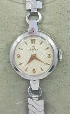 Omega Ladies Cocktail Stainless Steel Swiss Made Watch Cal 244 Ref 2795 - 8
