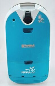 KENMORE Model 116 Hepa Media Filter 360 Turquoise Canister Vacuum w/ Attachments